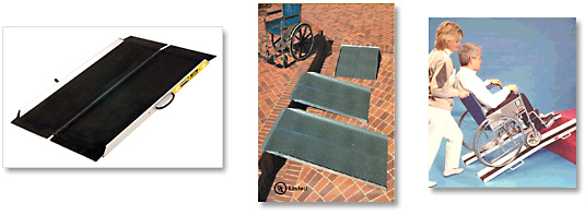 Examples of portable Disability Access Ramps